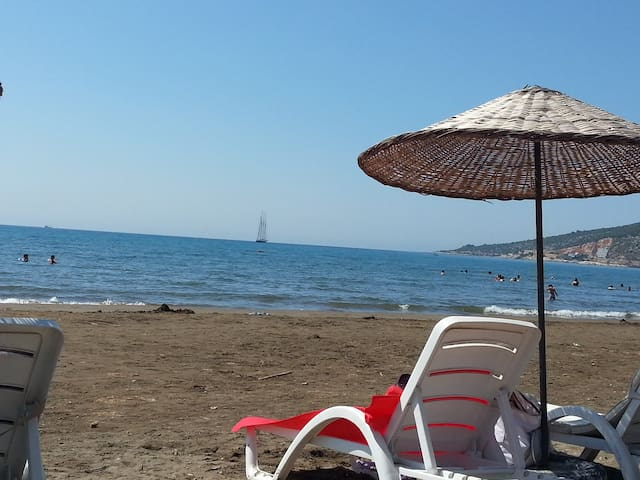 2 rooms flat with furniture @ beach - Finike - Appartement