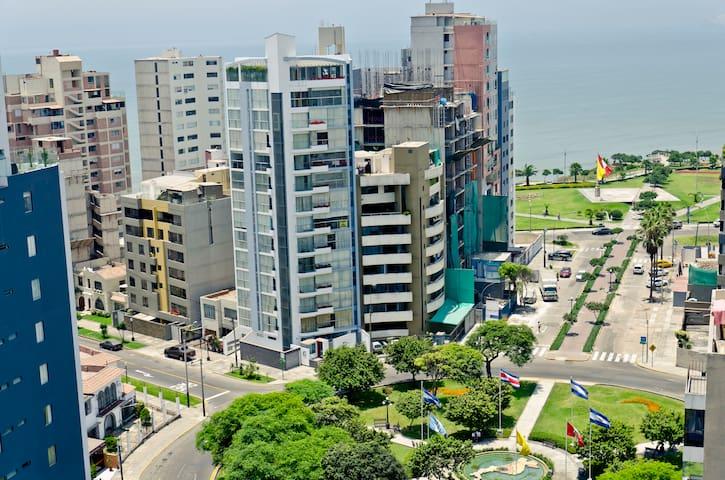 Apartment w/Panoramic Ocean Views - Distrito de Miraflores - Departamento
