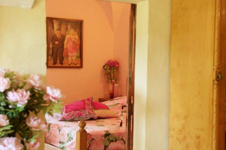 Roze Doos, Pink Box, Caja Rosada  - Sant Andreu del Terri