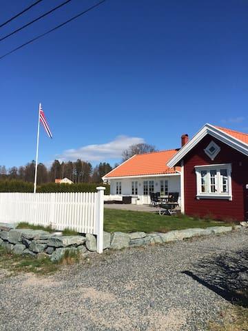 SUMMERHOUSE fuglevik LARKOLLEN close to Oslo - Rygge - Huis