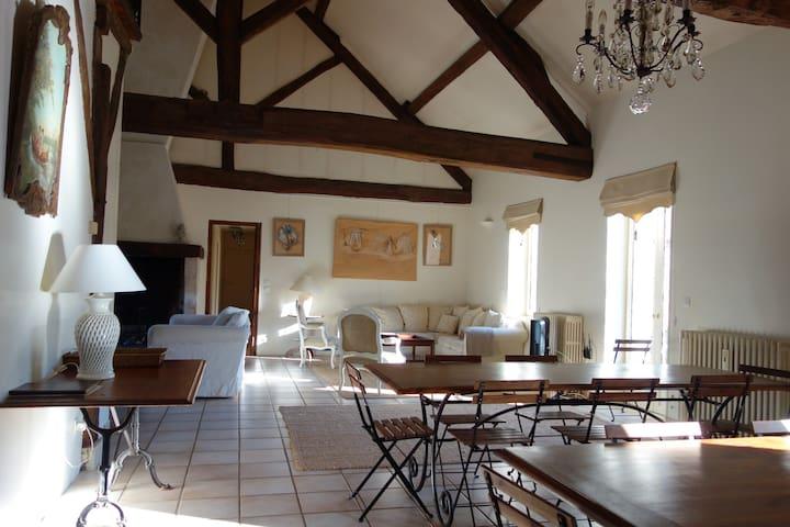 Le Limodin Manor House  - La Houssaye-en-Brie - Casa