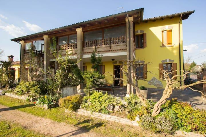 Casa algisa con giardino di Aloe - Montegrotto Terme - 一軒家