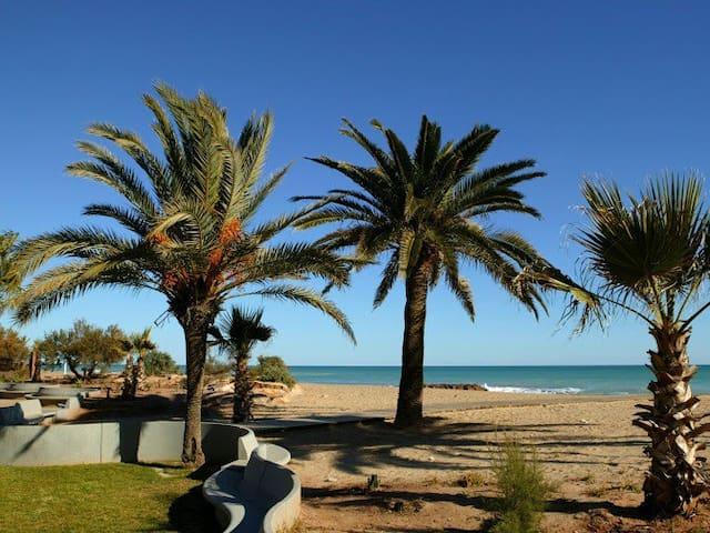 Beach apartment:WIFI-POOL-3Bedrooms-parking - Moncofa - Daire