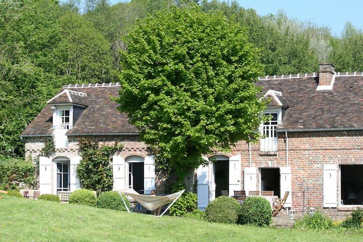 Belle maison idéal famille 1h Paris - Lachapelle-aux-Pots - Hus