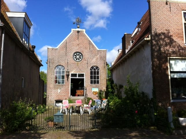 Big Church with great view on water - Blokzijl - Maison