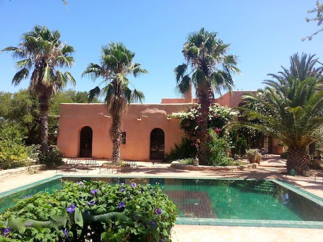 Großes Ferienhaus mit Koch ! - Essaouira