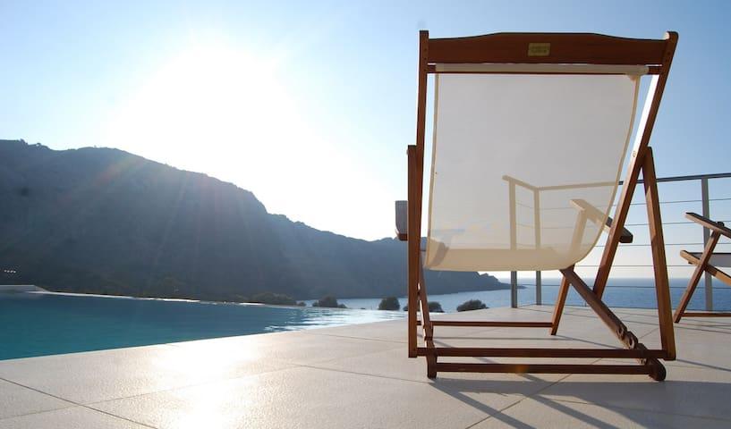 Villa Corallium, amazing sea view - Kissamos - Villa