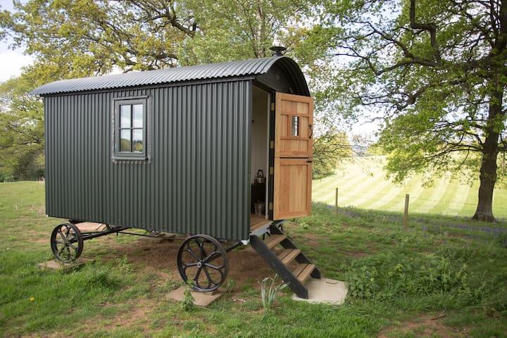 Surrey Hills Shepherds Hut - Shere