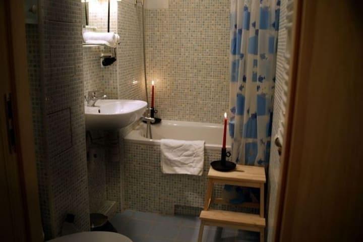 Ferienhaus mit Indoor-Pool  - Łacha - Apartamento
