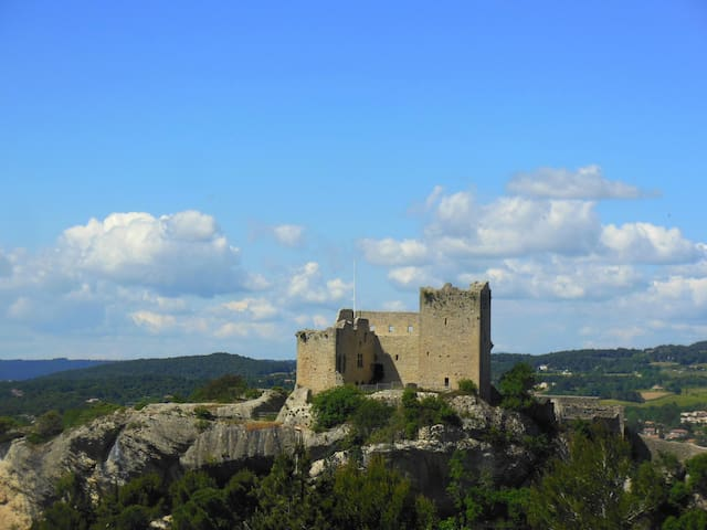 The most beautiful view in Vaison - Vaison-la-Romaine - House