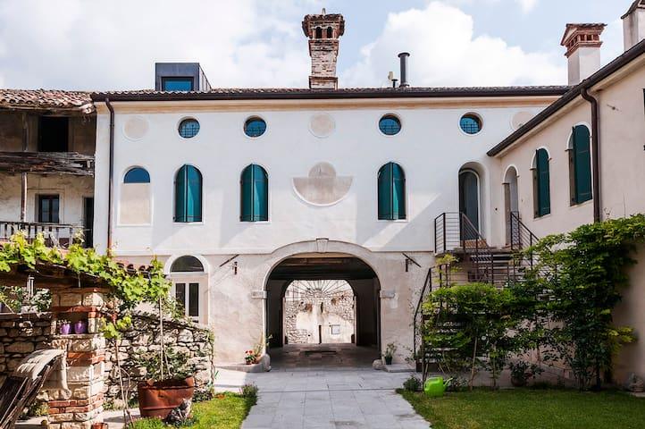 Romantica dimora in Borgo Storico - Cison di Valmarino - Appartement