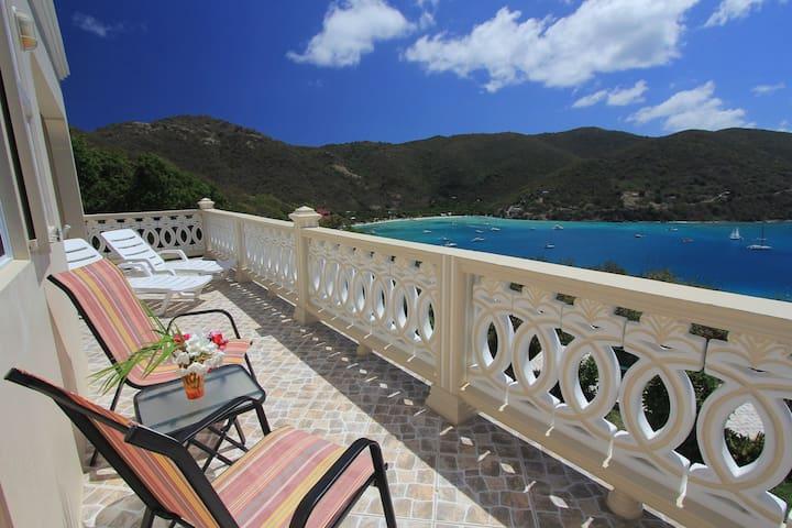 Ocean View Villa, on Jost Van Dyke - Tortola