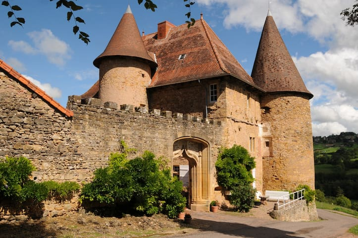 Château de Barnay - South Burgundy - Saint Martin de Lixy - Slott