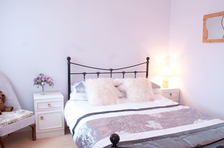 """Sunny Double """"Lilac"""" Bedroom  - Angmering"""
