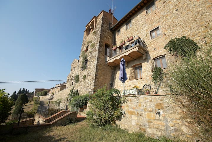 Old Walls with garden and......pool - Barberino Val - Appartement