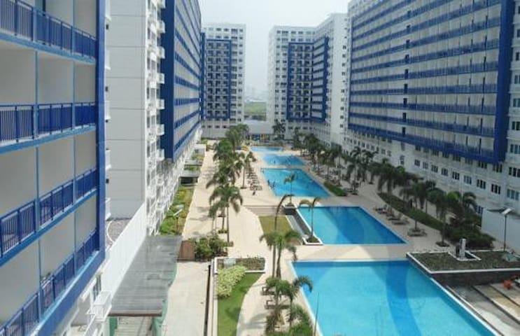 1 bdrm condo nr MOA + WiFi - Pasay City