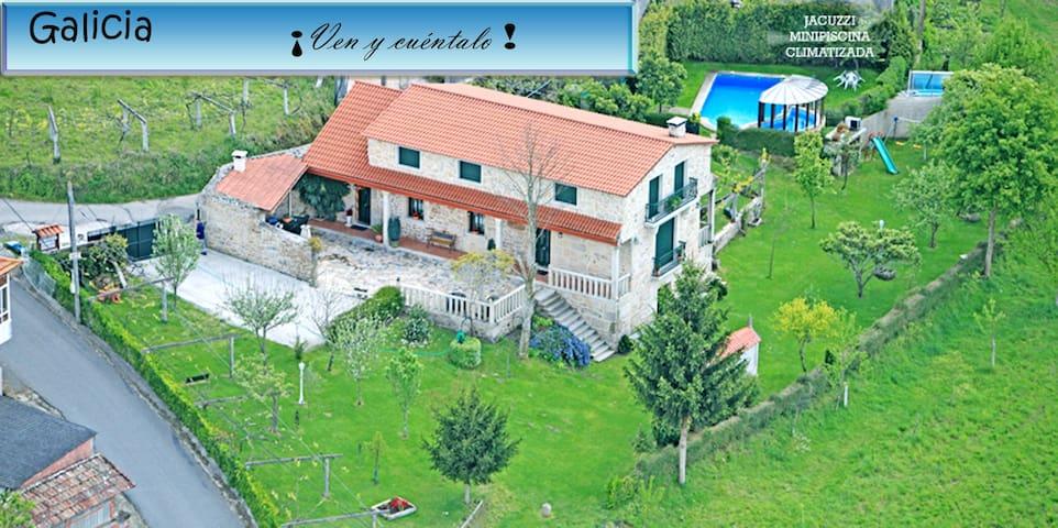 CASA RURAL OS CARBALLOS - Barro - Huis