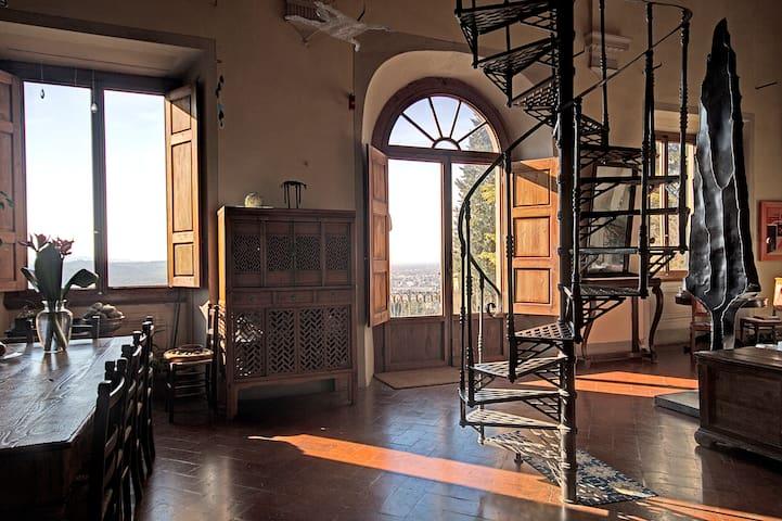 Beautifull apartment historic Villa - Bagno a Ripoli - Villa