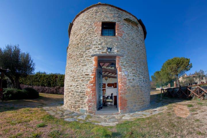 Old Tower, lake view, swimming pool - Tuoro sul Trasimeno - Linna