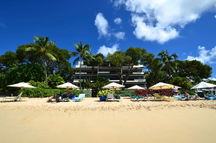 On the beach in Barbados - Holetown - Daire