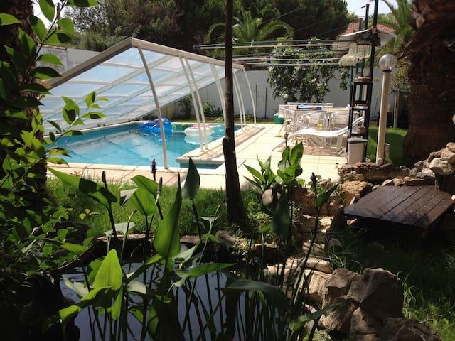 Pérols, T3 70 m² piscine, jardin. - Pérols - Departamento