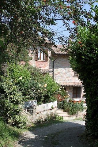 bella casetta tra boschi e vigneti - Pianello Val Tidone - Huis