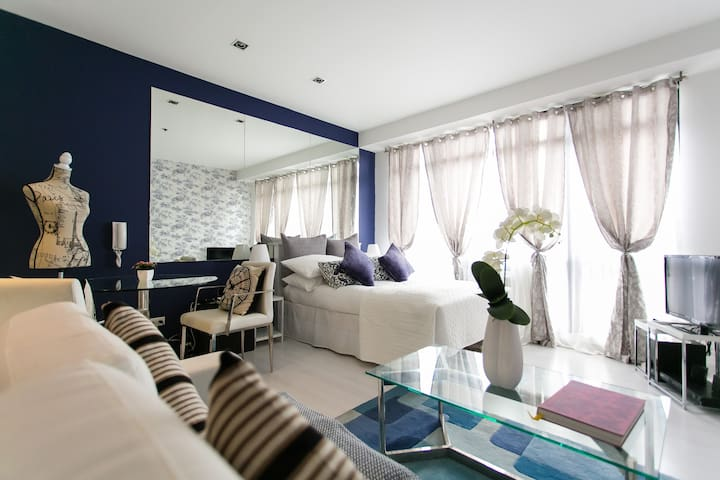 Gramercy Dreamy Chic 50Mbps Wifi!!! - Makati - Apartament