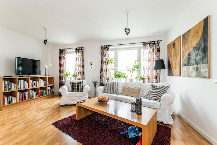 200 m to bath, close to city - Stockholm
