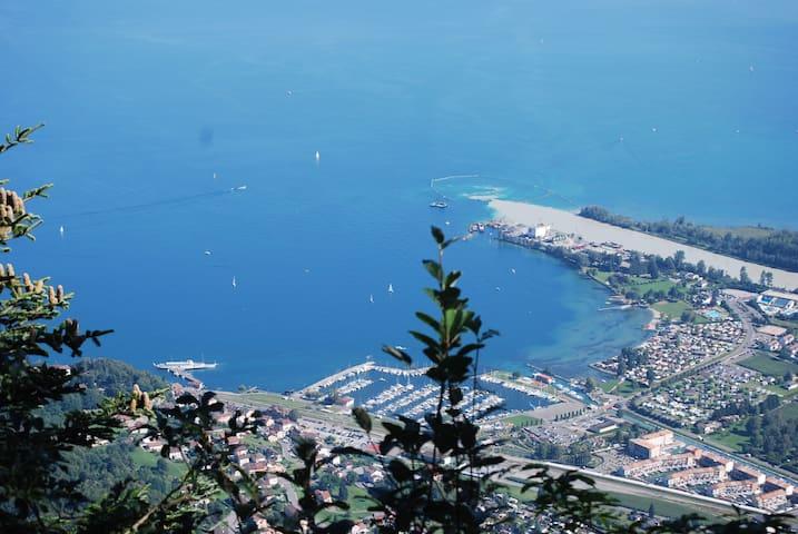Léman : été au lac , hiver au ski ! - Port-Valais - Departamento