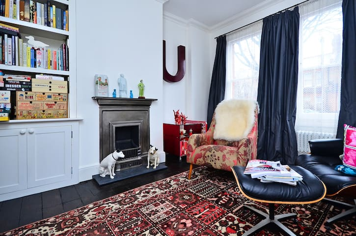 Room w/ WIFI in Arty Victorian  - Londres - Casa
