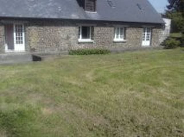 Loue belle maison campagne Normandie - La Ferrière-Harang - Haus