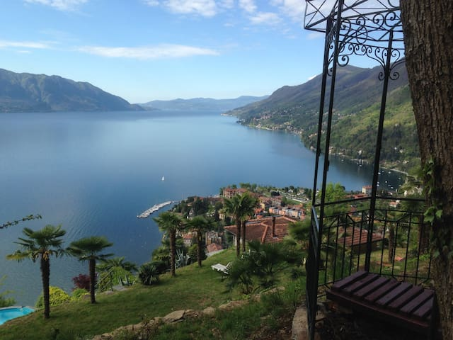 Appartment, Pool, Garden, Lake view - Cannero Riviera