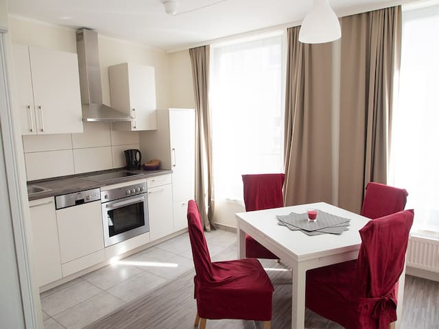 Luxus City Apartment Domblick 1 - Schwerin - Apartamento