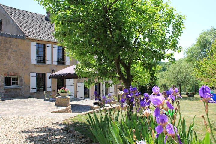 Prachtig huis vlakbij Vezelay - Island - Huis