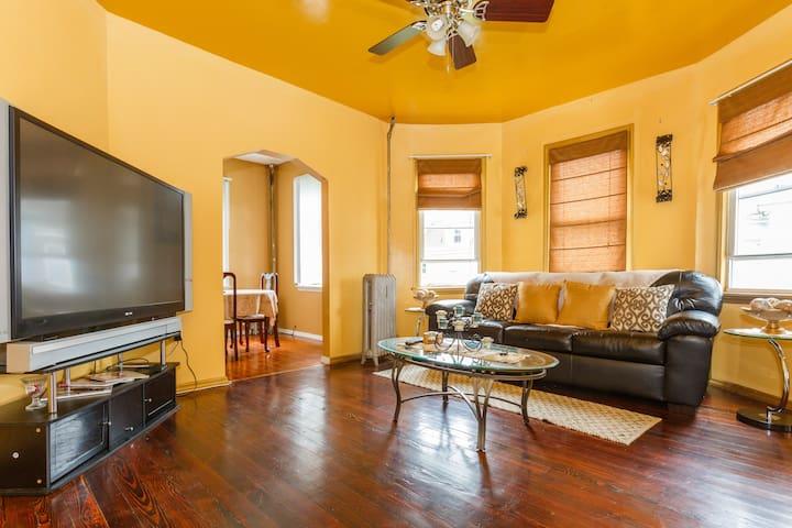 Cozy Apartment Close To NYC!!! - East Orange - Huoneisto