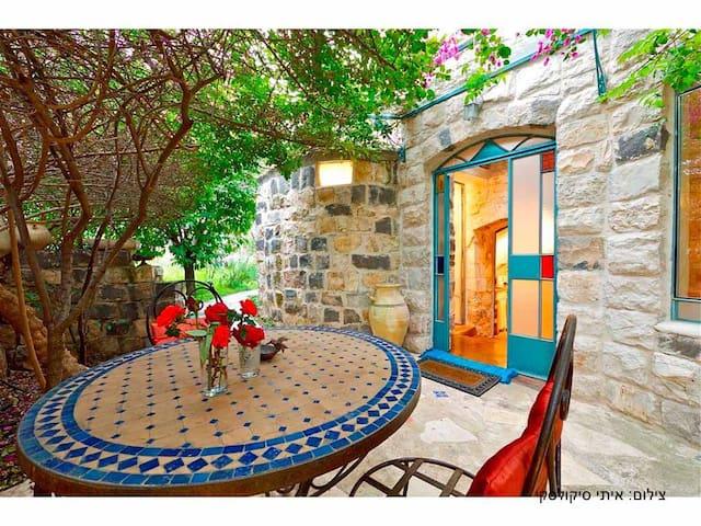 Authentic Galilee stone cottage   - Rosh Pinna - Departamento