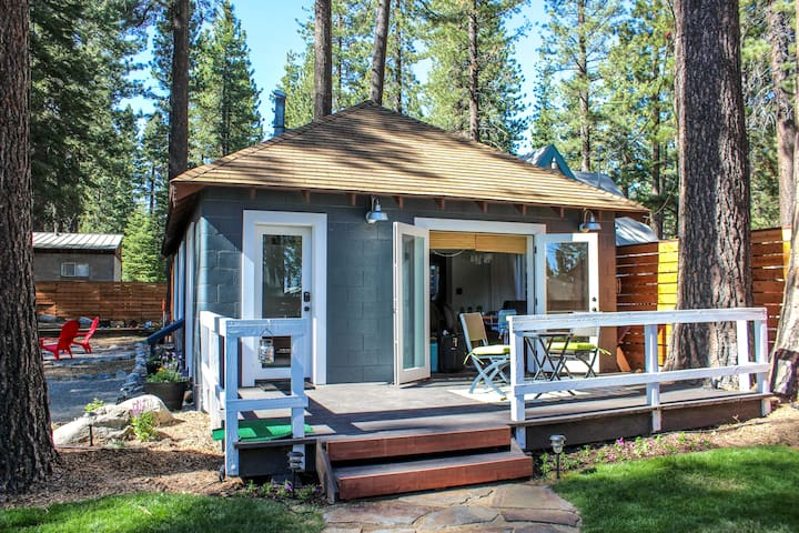 Hip Modern Cottage of Amazingness - Kings Beach - Casa