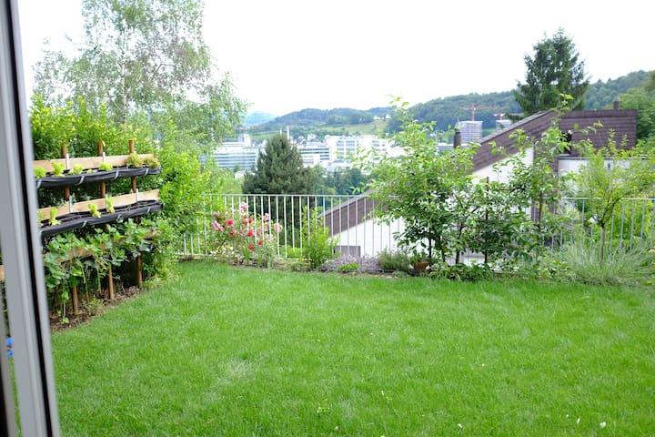 Studio apartment with garden - Baden - Apartamento
