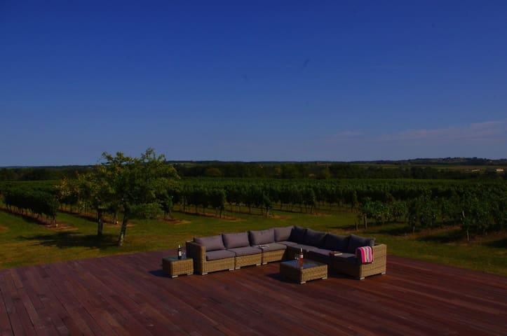 Bordeaux vineyard B&B nr St Emilion - Camiran - Bed & Breakfast