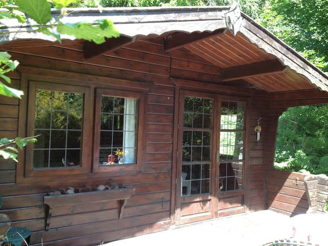 Cabin with ensuite shower room - Lostwithiel