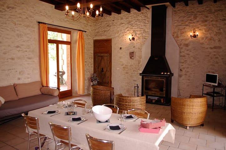 Gîte solognot rénové - Chaumont sur Tharonne - Maison