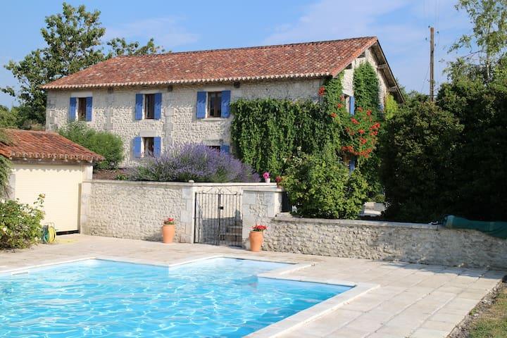 La Grange, Dordogne Barn Conversion - Saint-Martial-Viveyrol - Rumah