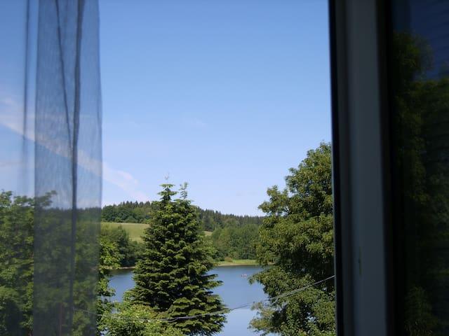 Апартаменты с видом на озеро. - Frymburk - Lägenhet