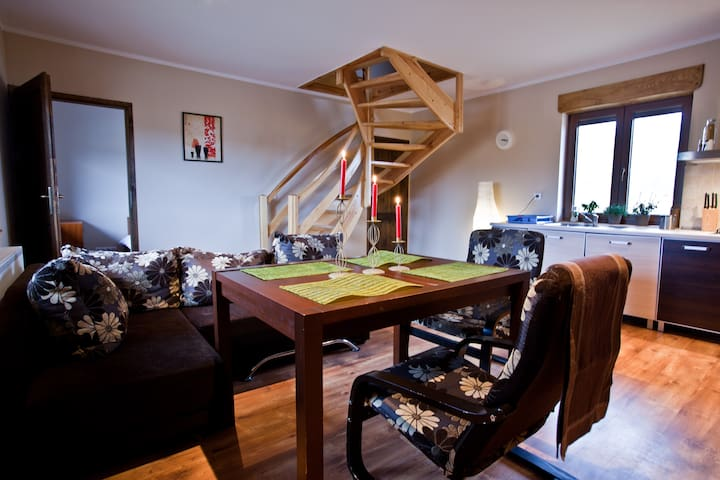 Log Cabin Lodge - 8 pers. apartment - Miłków - Appartement