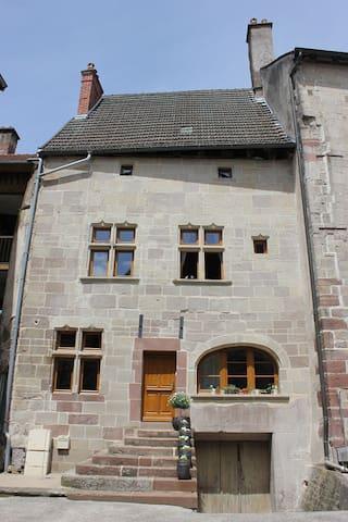Einzigartiges Altstadthaus, Toplage - Luxeuil-les-Bains - Huis