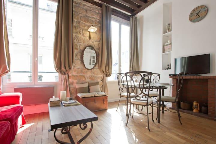 Cosy Apartment in Rue des Rosiers  - Paris - Lägenhet