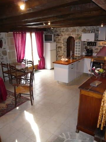 Complete apt in the countryside - Saint-Hilaire-les-Places