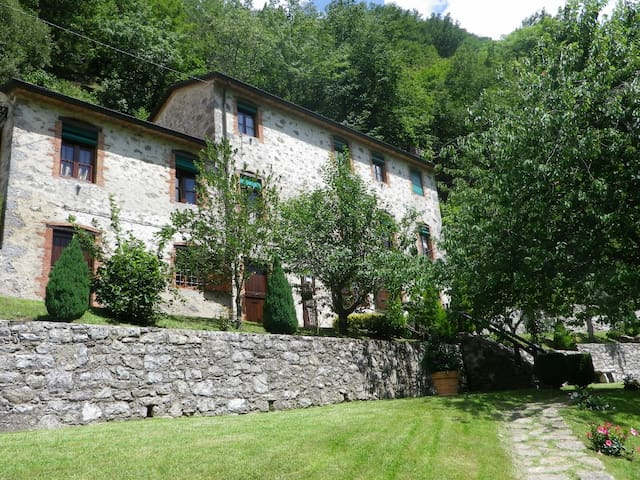 Pedogna House, where time stopped - Pescaglia - Hus