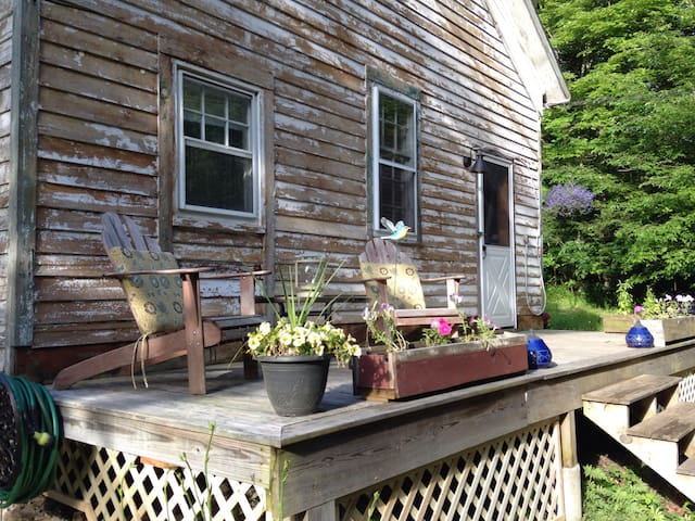 School House+Shed+Creek+Airstream+Outdoor Shower! - Grahamsville - Лофт