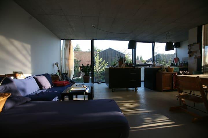 Beautiful modern house - Hauterive, Fribourg - Дом